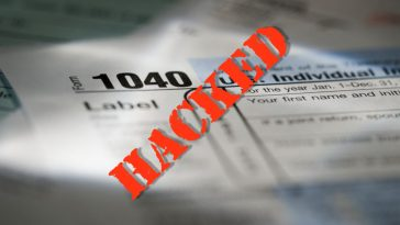 Form 1040 hacked