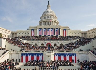 US Capitol Inauguration day